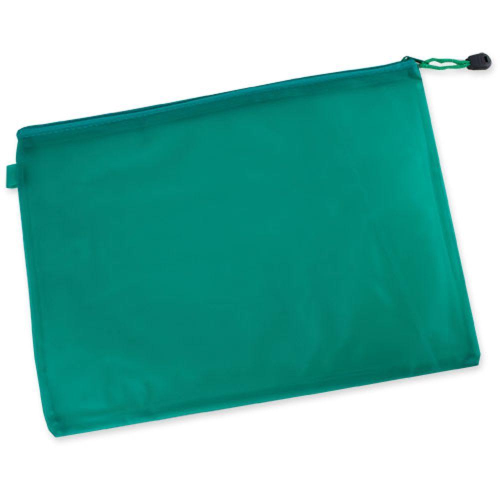 Obal na dokumenty zelený