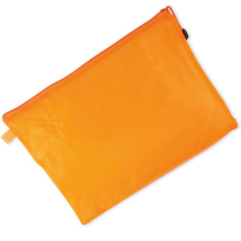 Obal na dokumenty oranžový