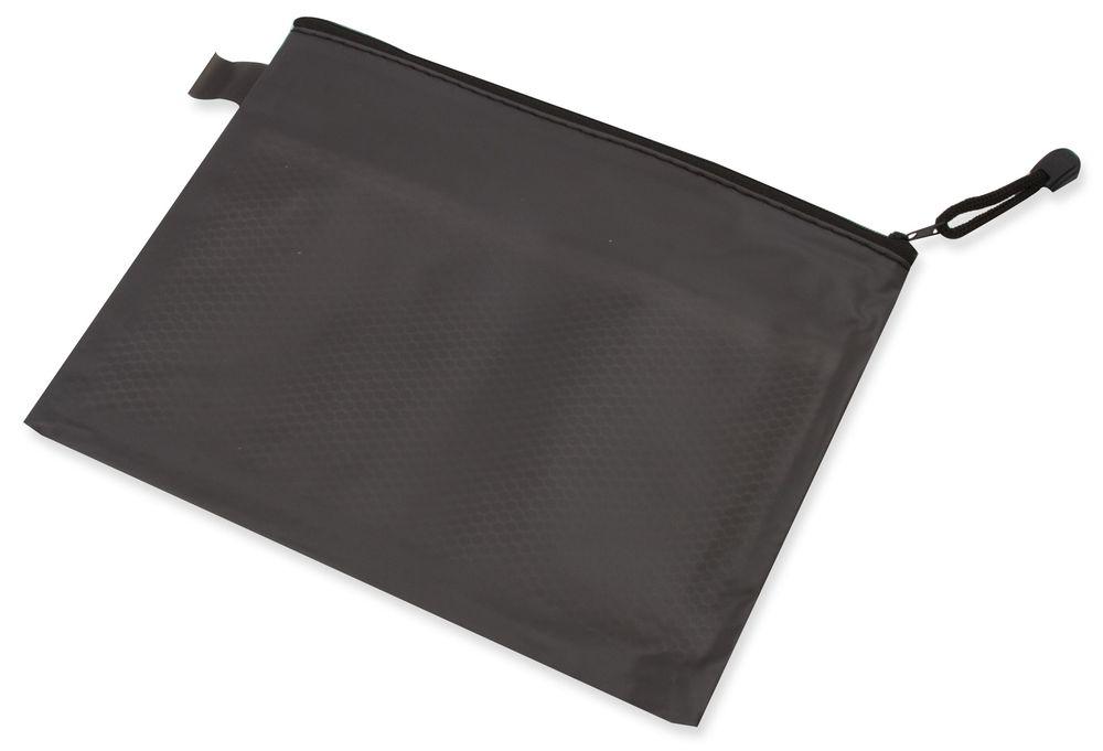 Obal na dokumenty s dvěma kapsami černý