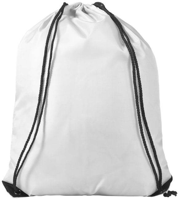 Bílý batoh se šnůrkami Oriole