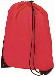 Lehce složitelný červený batoh