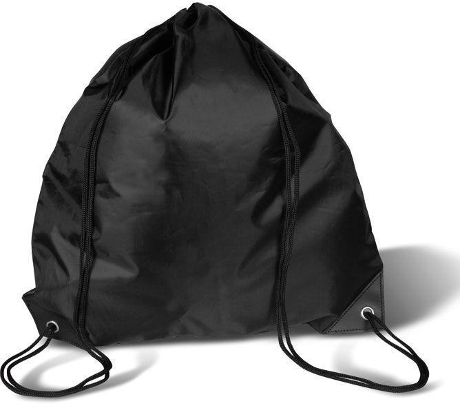 Černý batoh na záda