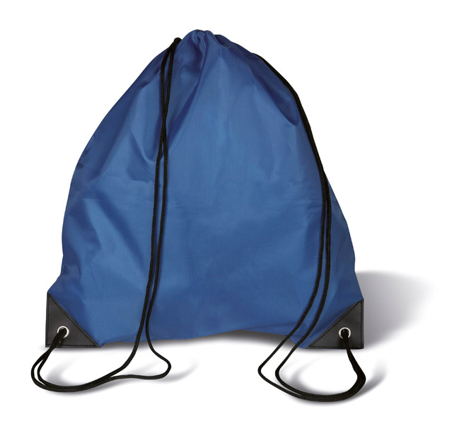 Modrý batoh na záda