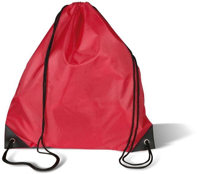 Červený batoh na záda