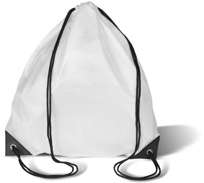 Bílý batoh na záda