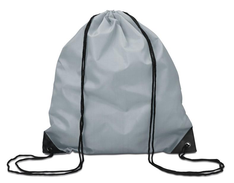 Šedý batoh na záda