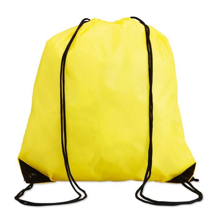 Žlutý batoh na záda