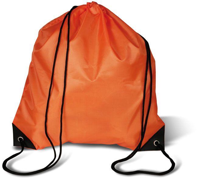 Oranžový batoh na záda