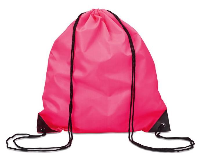 Růžový batoh na záda