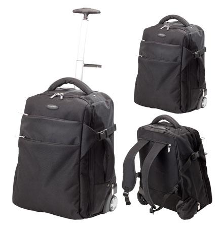 Kuman ruksak s kolečkami