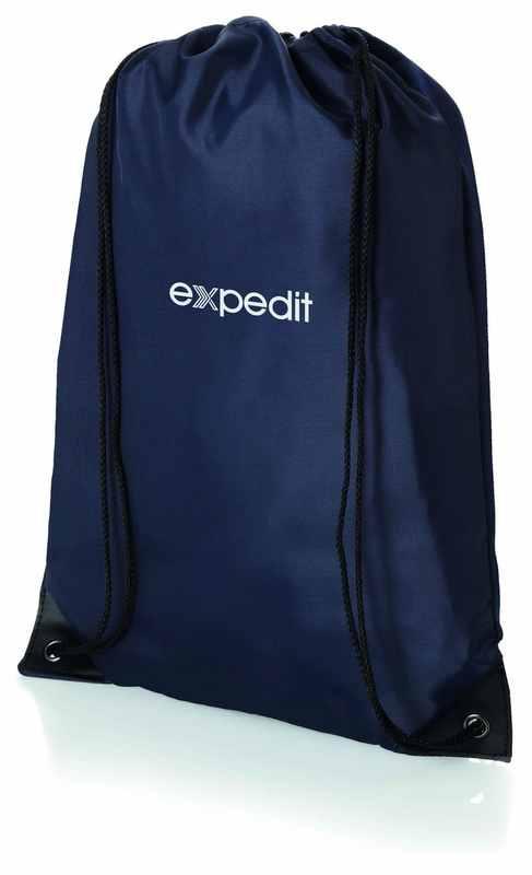 Světle modrý batůžek premium combo s potiskem