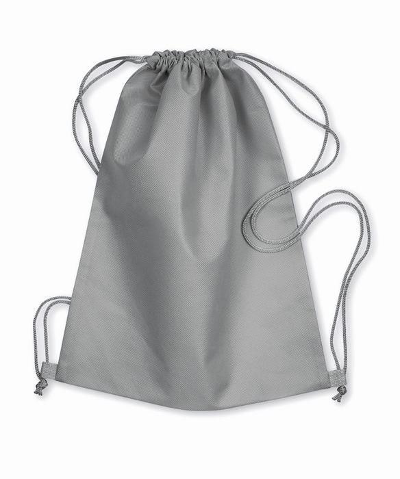Šedá taška z netkané textílie