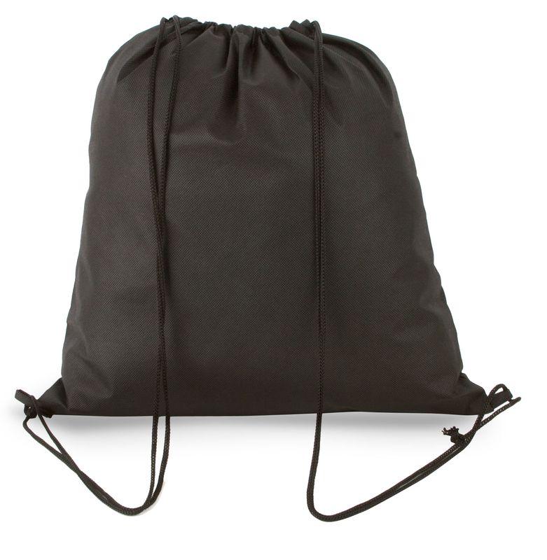 Netkaný batůžek černá
