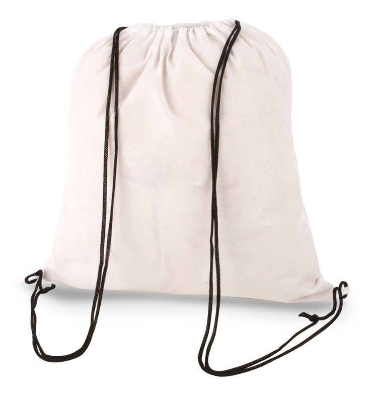 Netkaný batůžek bílý