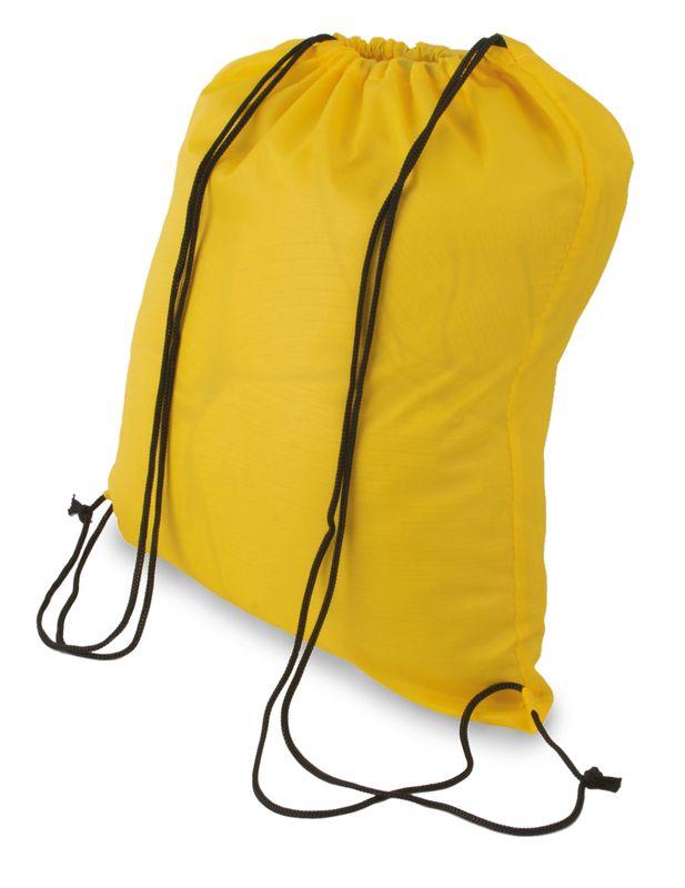 Polyesterový batůžek žlutý