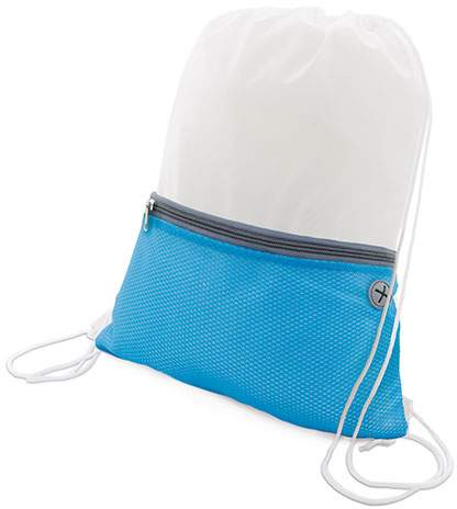 Dvoudílný batoh Luxory bílá/modrá