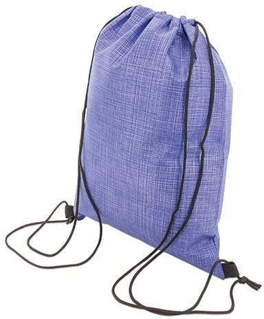 Stahovací batoh, modrá