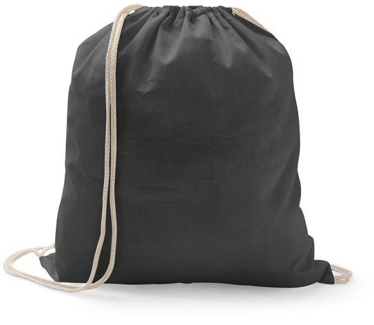 Stahovací bavlněný batoh