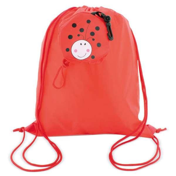 Skládací batoh - beruška