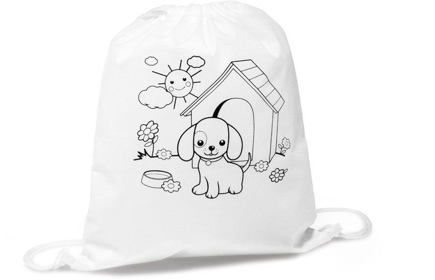 Draws dětský sportovní batoh na vybarvení