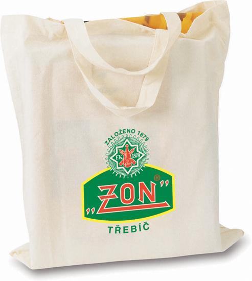 Bavlněná nákupní taška s potiskem