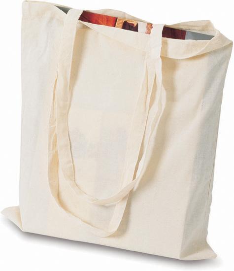 Nákupní taška s dlouhými uchy s potiskem
