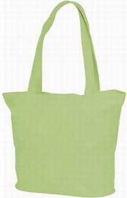 Zelená plážová/nákupní taška Panama