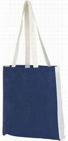 Plážová/nákupní taška modrá