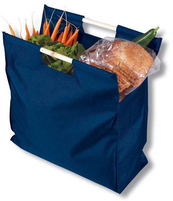 Modrá nákupní taška z PE