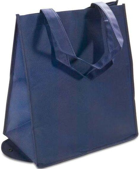 Skládací modrá taška