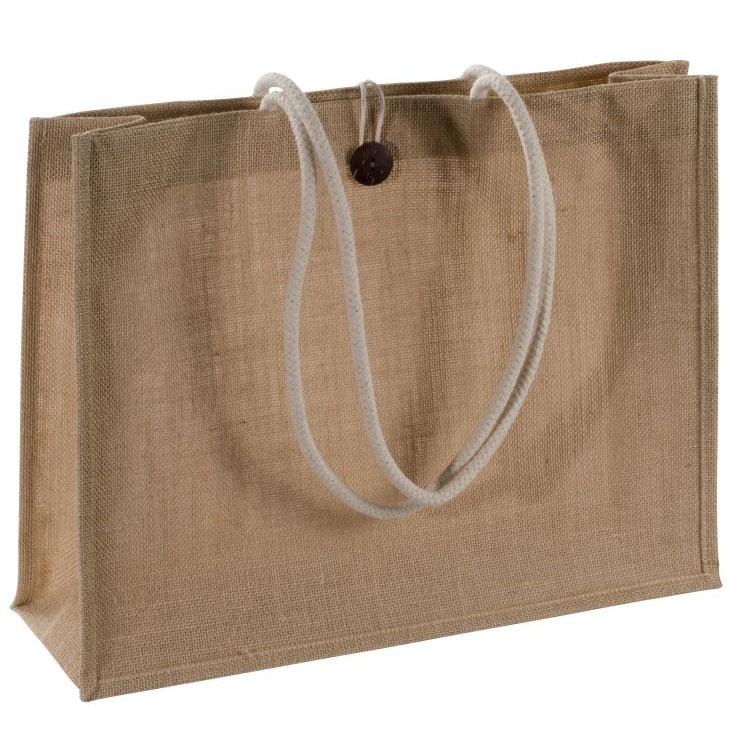 Extra velká jutová taška