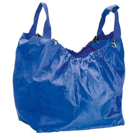 Modrá nákupní taška připevnitelná