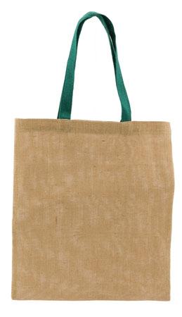 Nákupní taška, materiál juta s potiskem