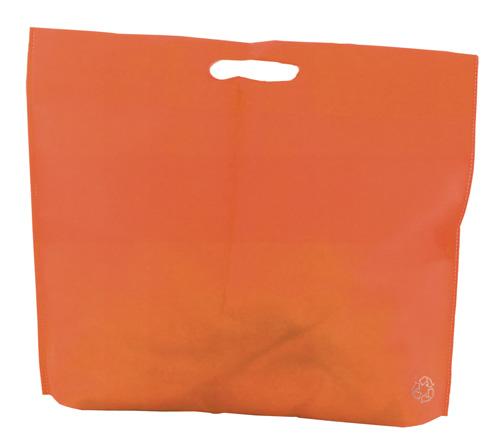 Shopwell oranžová nákupní taška