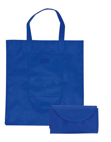 Konsum modrá skládací taška