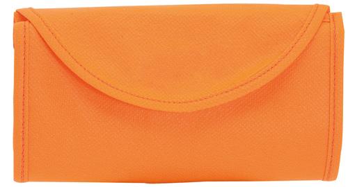 Konsum oranžová skládací taška