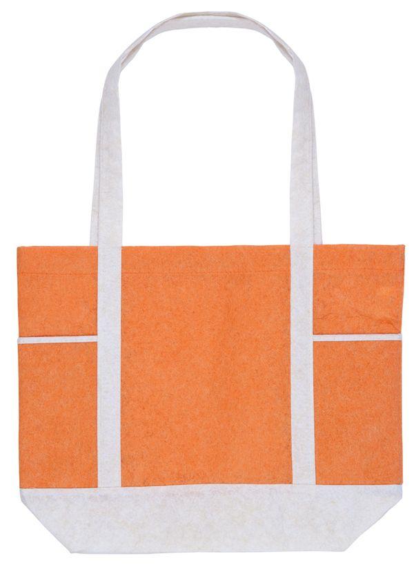 Carole oranžová nákupní taška