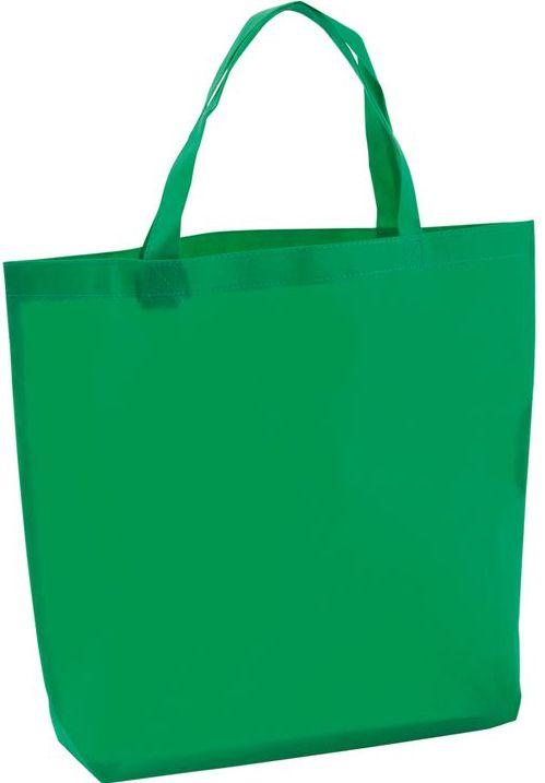 Shopper zelená taška