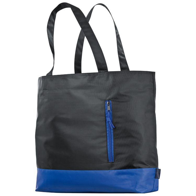 Nákupní taška s rukojetí modrá