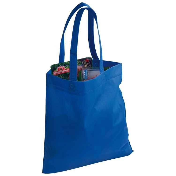 Modrá taška z netkané textilie