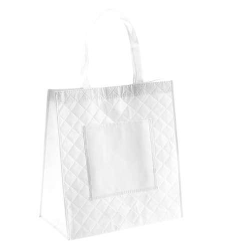 Yermen bílá nákupní taška