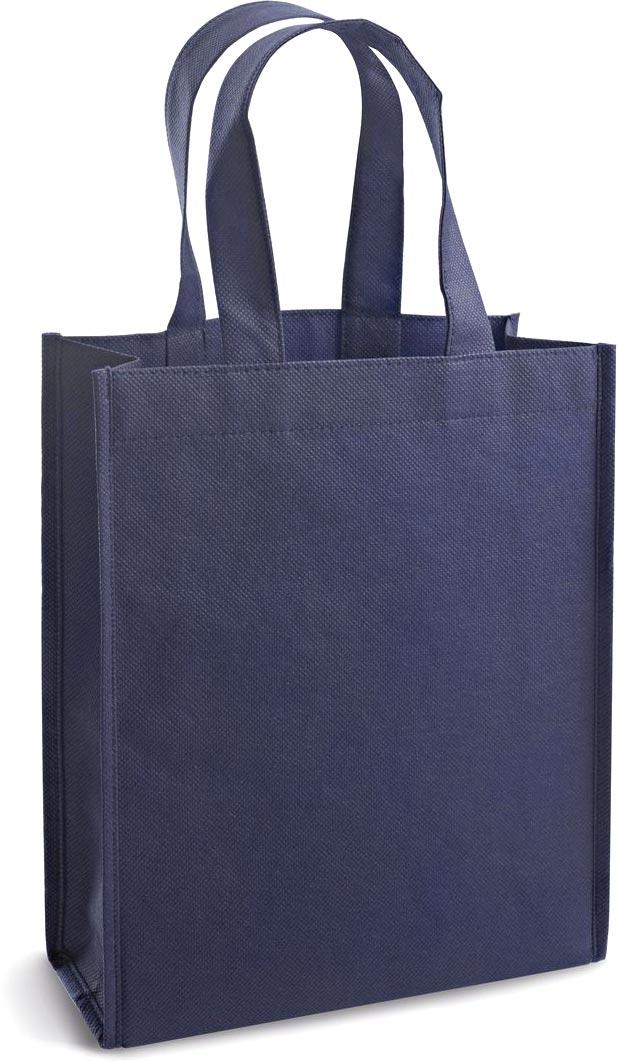 Netkaná taška modrá