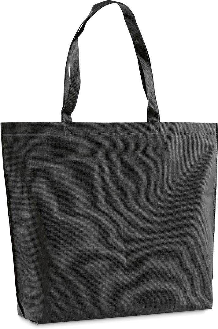 Netkaná taška černá