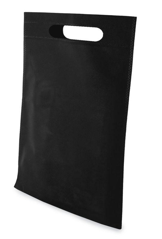 LISA netkaná taška černá