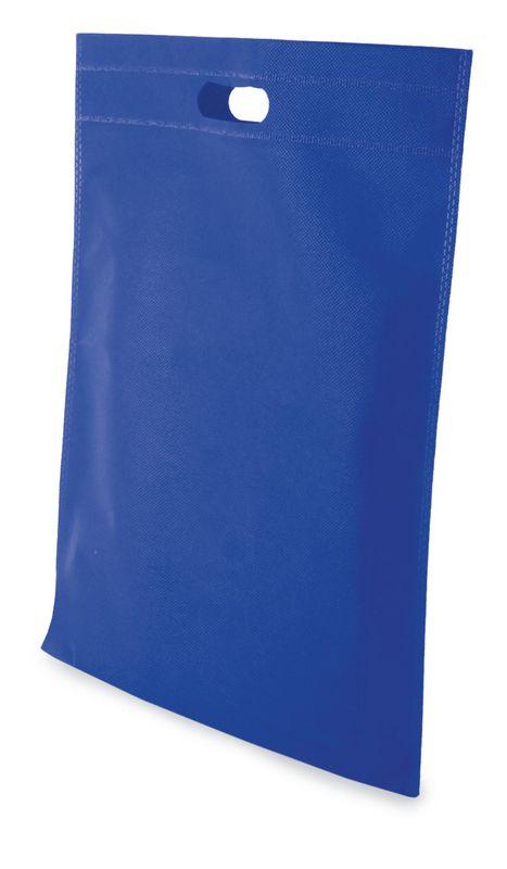 LUCY netkaná taška světle modrá