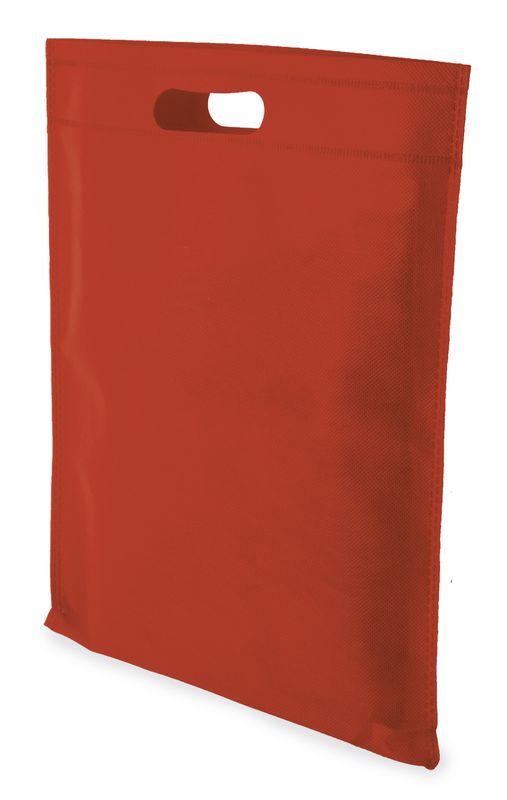 LUCY netkaná taška červená
