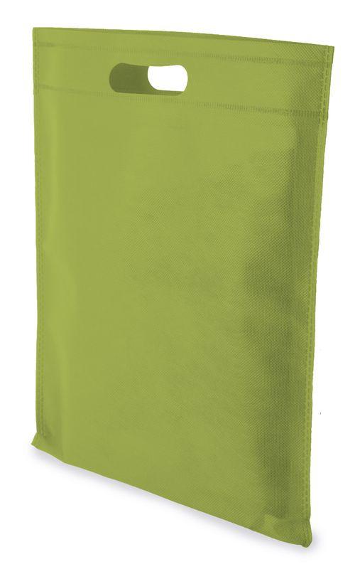 LUCY netkaná taška zelená