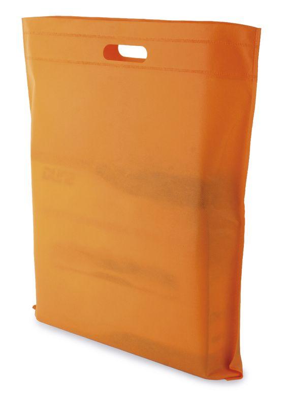 LUCY netkaná taška oranžová