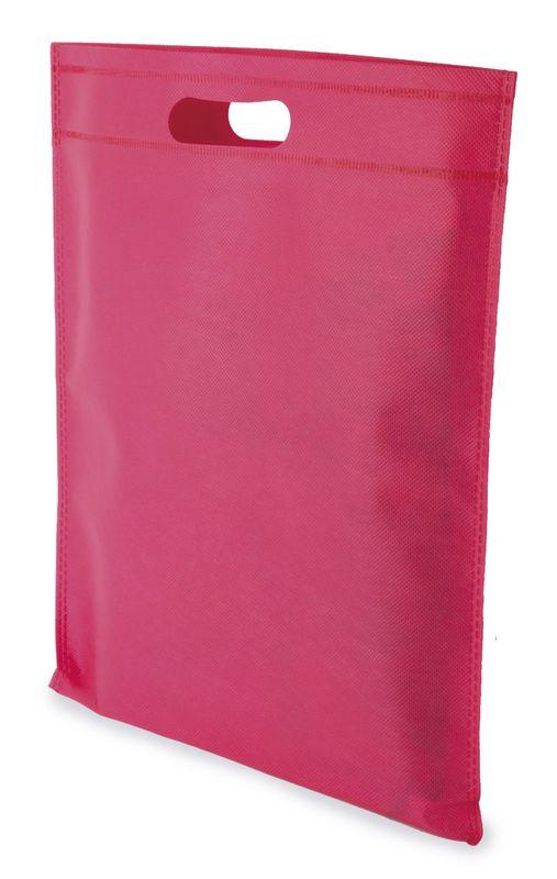 LUCY netkaná taška růžová