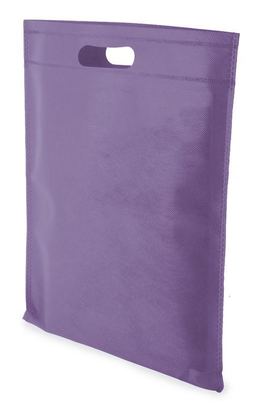 LUCY netkaná taška fialová